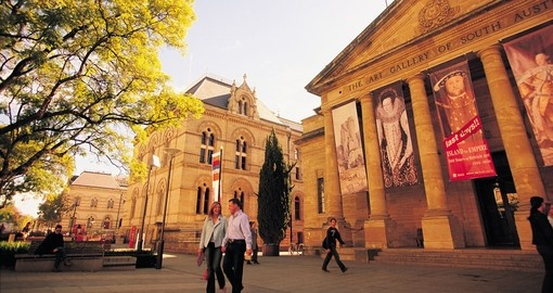 See colonial art at the Art Gallery of South Australia