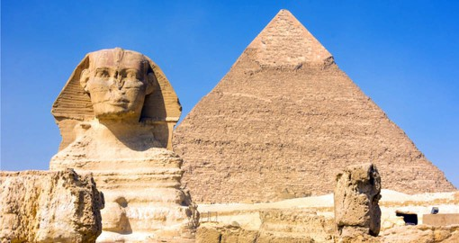 Experience The Sphinx & Great Pyramids of Giza on your Egypt Vacation