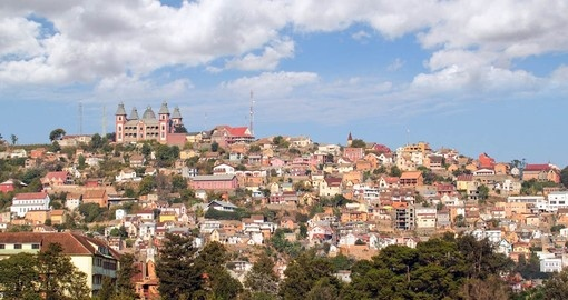 Start your Madagascar Vacation in the capital city of Antananarivo