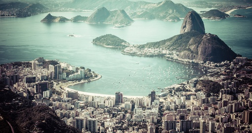 Experience the energy of Rio de Janiero on your Brazil Tour