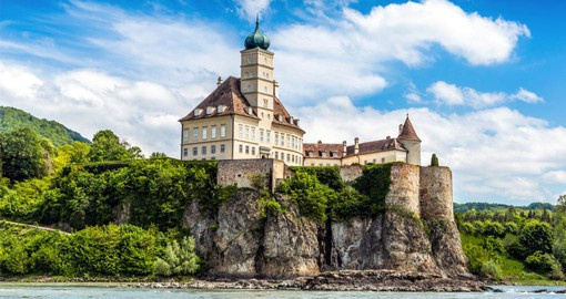 Austria's  Wachau Valley is home to charming villages and ancient ruins and castles