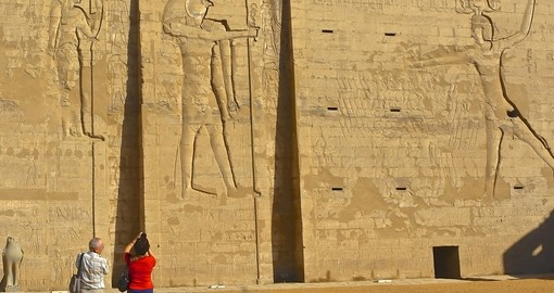 Experience this magical Temple in Edfu during your next trip to Egypt.