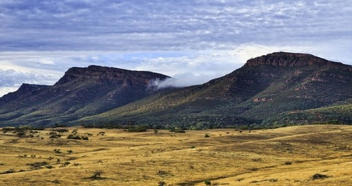 Wilpena Pound in Flinders Ranges National Park