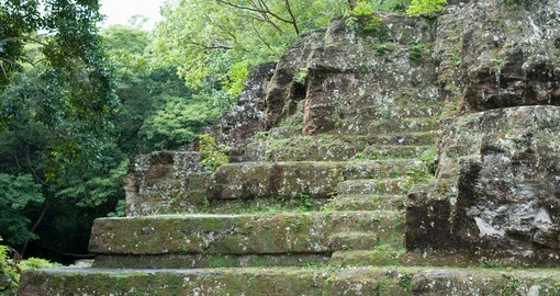 Explore the mysterious Uaxctun Ruins on your Guatemala Vacation