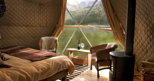 Relax after a day of adventuring on your Chile vacation