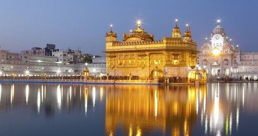Visit the Golden Temple in Amritsar as part of your India Tours