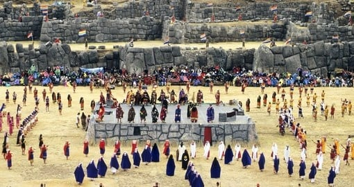 Participate in an Inti Raymi celebration on your trip to Peru