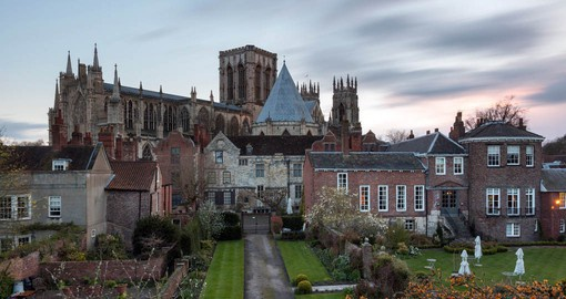 During your trip to England visit York Minster, the largest Gothic Cathedral in Northern Europe