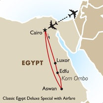 Classic Egypt Deluxe Special with Airfare