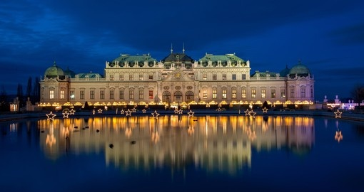Visit Palace Belvedere historic building complex in Vienna during your next Austria vacations.