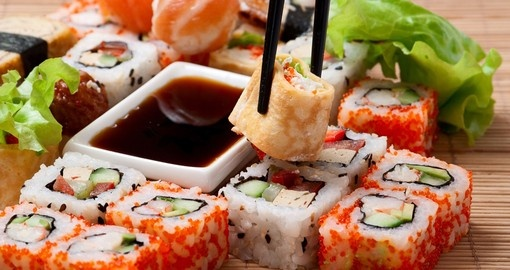 food japan japanese drink traditional cuisine sushi tokyo goway brochure travel japon sources asia sashimi sea eat cooking delicious comida