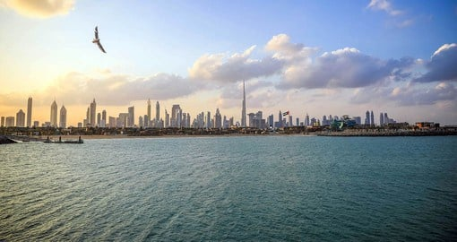 Believed to have been established as a fishing village in the 18th century, Dubai is now a global city
