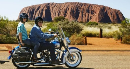Make the Uluru Motorcycle Quick Spin in the Outback a part of your exciting Australian Vacation