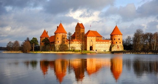 Trakai Castle can be visited on your Lithnuania Vacation