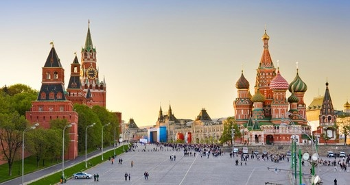 Visit Red Square on your Scandinavia Tour