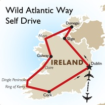 Wild Atlantic Way Self Drive: Dublin to Dublin