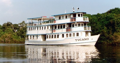 Tucano Vessel Brazil Amazon