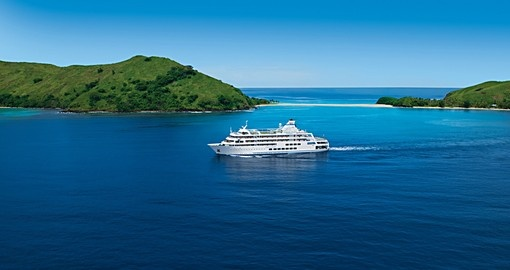On board the Reef Endeavor you'll be cruising through the waters surrounding the Northern Yasawa Islands on your Fiji Vacation.
