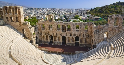 The Odeon theatre at Athens