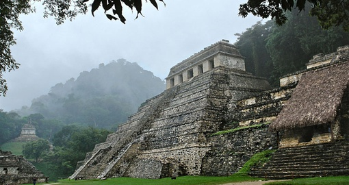 Palenque is home to some of the world's best preserved Mayan architecture