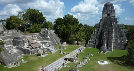 One of the largest archaeological sites of Maya civilization