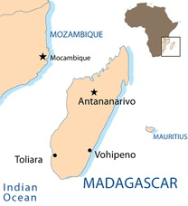 Madagascar Destination Map