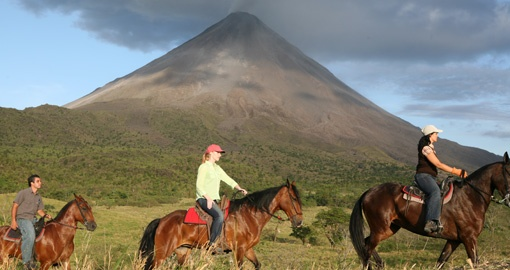 Go Horse Back riding in Arenal on you Costa Rica Vacation