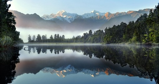 Experience New Zealand's spectacular scenery