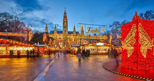 Visit the magical Christmas Markets of Vienna