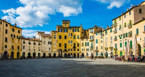 Lucca is a perfectly preserved jewel of medieval architecture and buildings