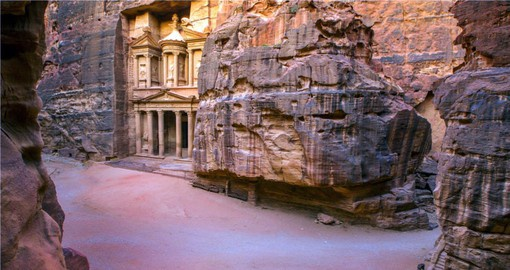 Explor the Teasury in Petra during your next Jordan tours.
