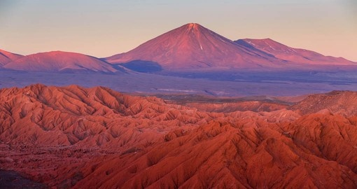 See the colours of the Atacama on your trip to Chile
