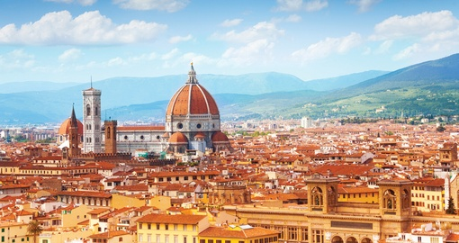 A panorama view of Florence