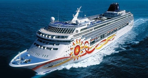 Enjoy cruising on the Norwegian Sun during your Panama Trip.