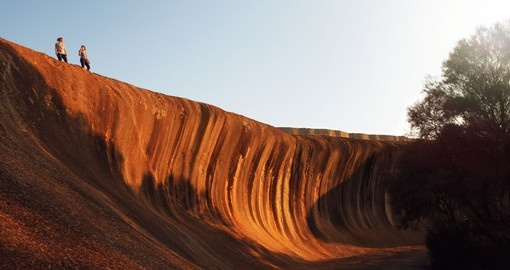 Stand on Wave Rock on your Australia Vacation