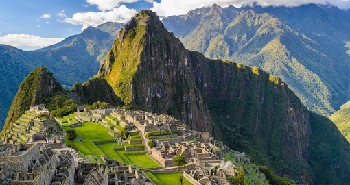Your Peru vacation package includes a visit to Machu Picchu, the Lost City of the Incas.