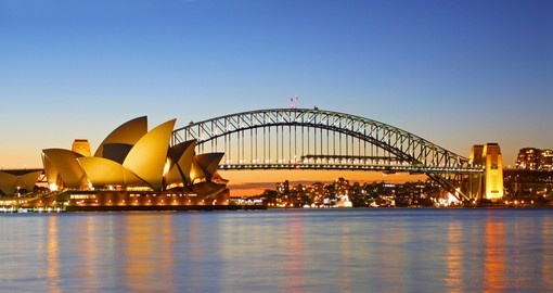 Must see place in Sydney, magical The Sydney Opera House during your next trip to Australia.