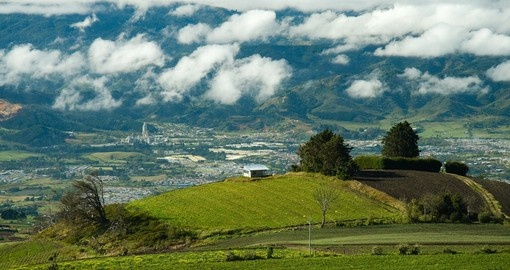 Catch your breath on Green Hills during your Costa Rica vacation