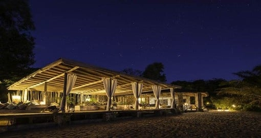 Experience all the amenities of the Kaya Mawa during your next trip to Malawi.