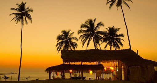 Beautiful Goa Sunset