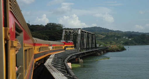 Experience Panama Transcontinental Train on your next Panama Vacations