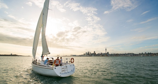 Explore Auckland Harbour on your next trip to New Zealand.