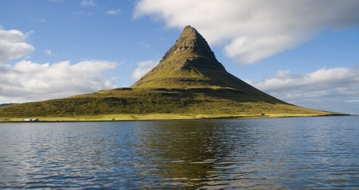 Mount Kirkjufell (Church mountain) in the Snaefellsnes peninsula, Iceland