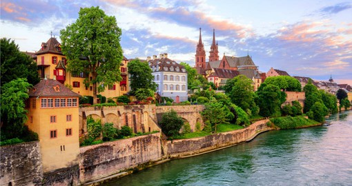 Basel is Switzerland's oldest university city and home to more than 40 museums