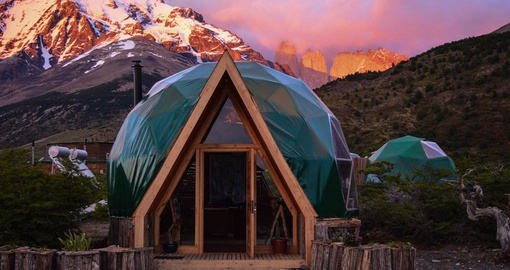 Enjoy your personal Eco Dome on yoru Chile Tour