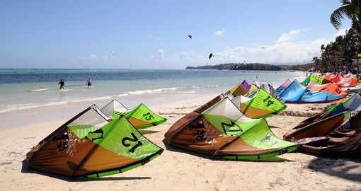 Kite surfing school in Boracay