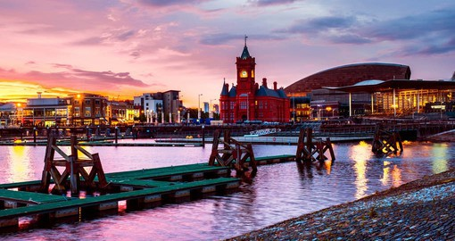 Cardiff, Wales' Capital city, offers a startling range of attractions