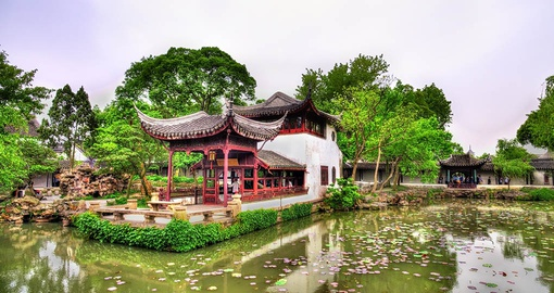 Stroll through stunning gardens on your China tour