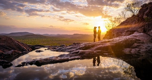 Romantic couple in Northern Territory