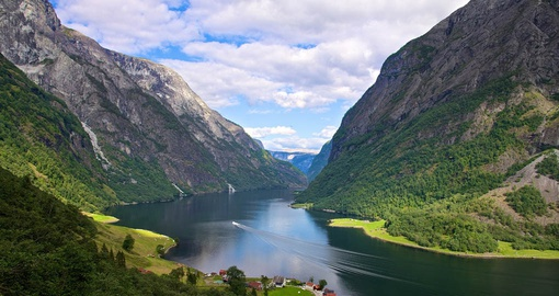 Stunning Fjord in Norway